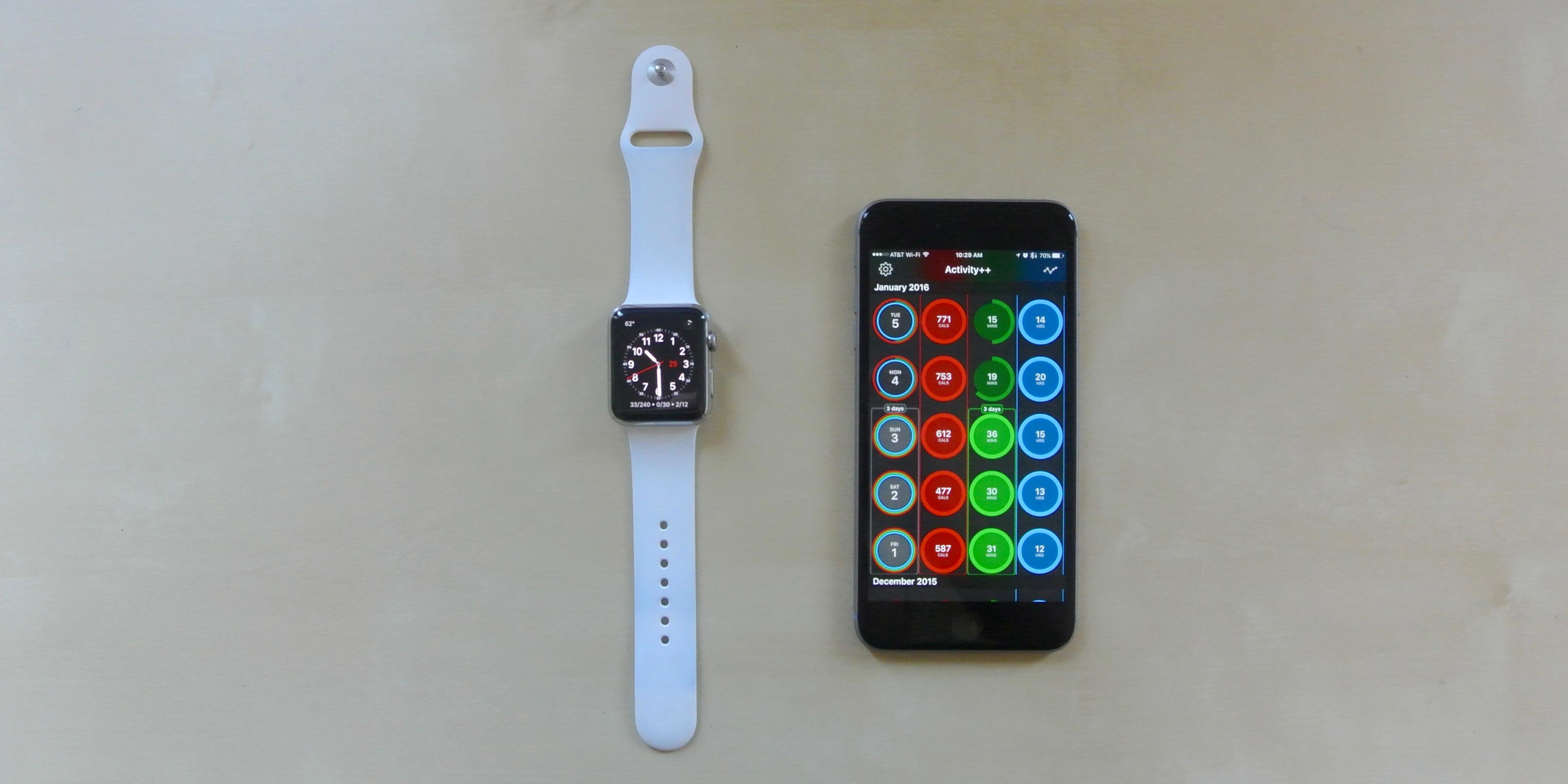 Activity++ Apple Watch iPhone