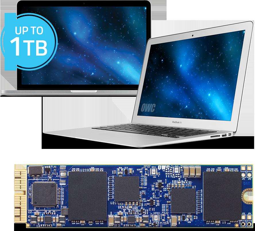 Aura Pro SSD MacBook