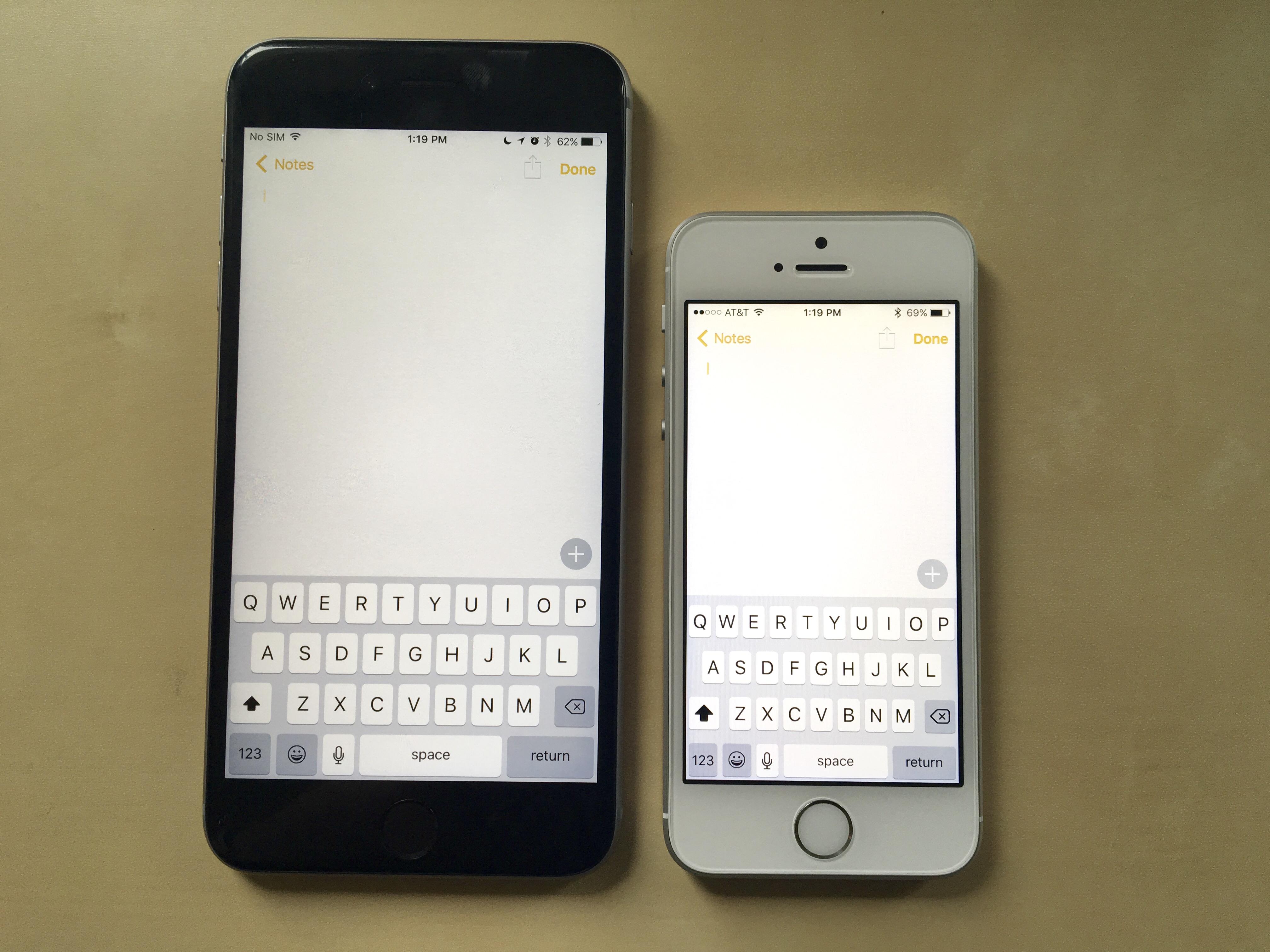 IPHONE 6S PLUS VS IPHONE SE