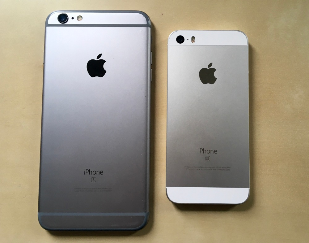 iPhone 6s Plus iPhone SE