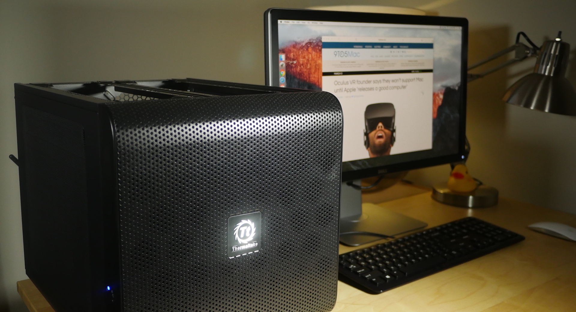Building a (sub-$1000) Hackintosh that meets the Oculus Rift