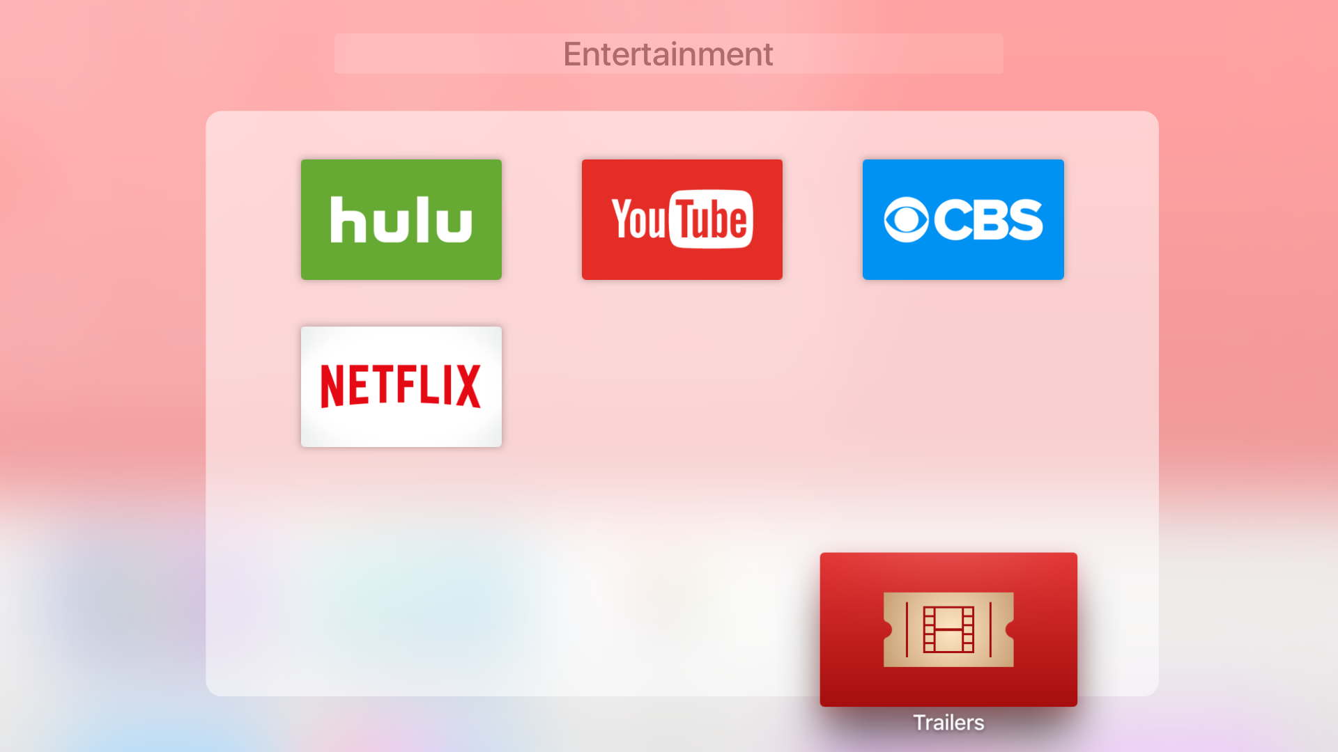 How to create folders on Apple TV tvOS 9.2