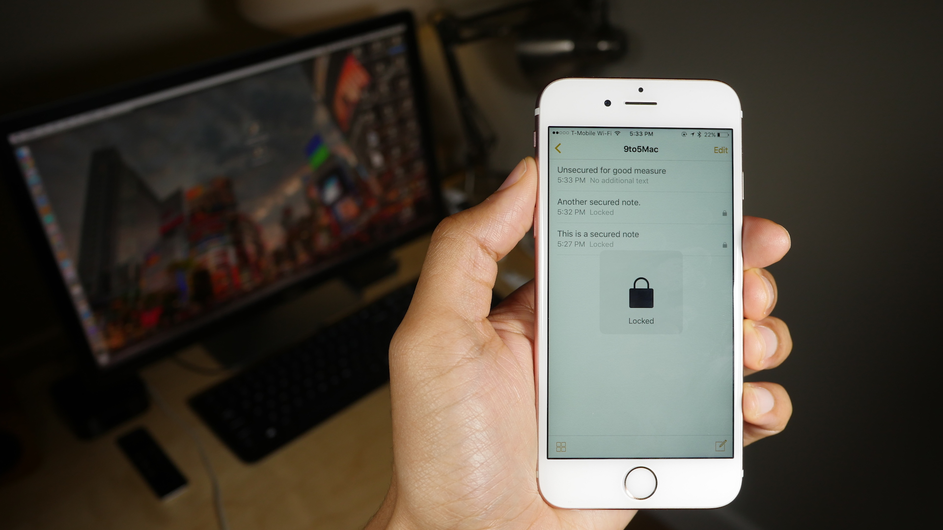 How to secure notes in iOS 9.3