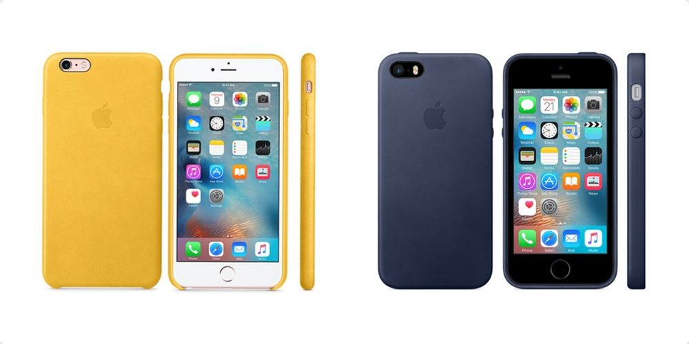 best website 3508e ffded Apple expands iPhone silicone/leather case options, confirms iPhone ...