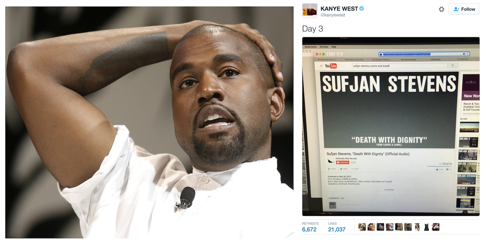 Kanye West gets caught pirating copy of $200 Logic Pro plug