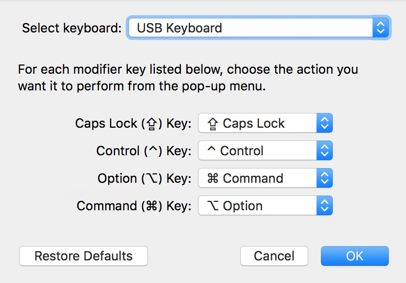 Keyboard Remap Windows Keys Mac Preferences