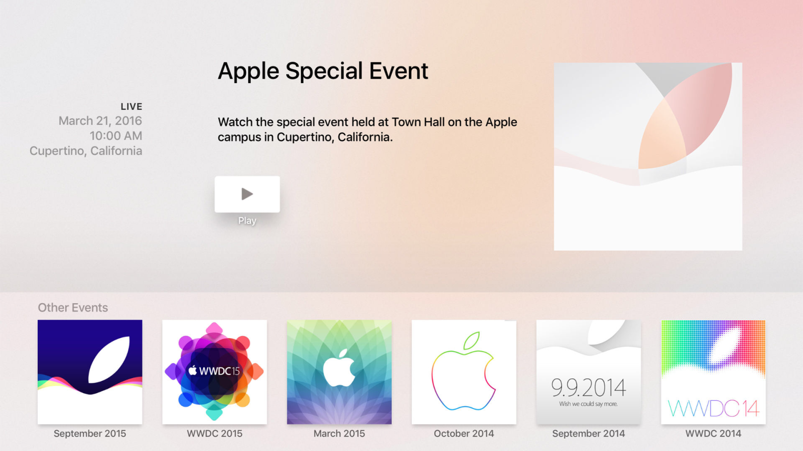 Apple Events 9to5mac