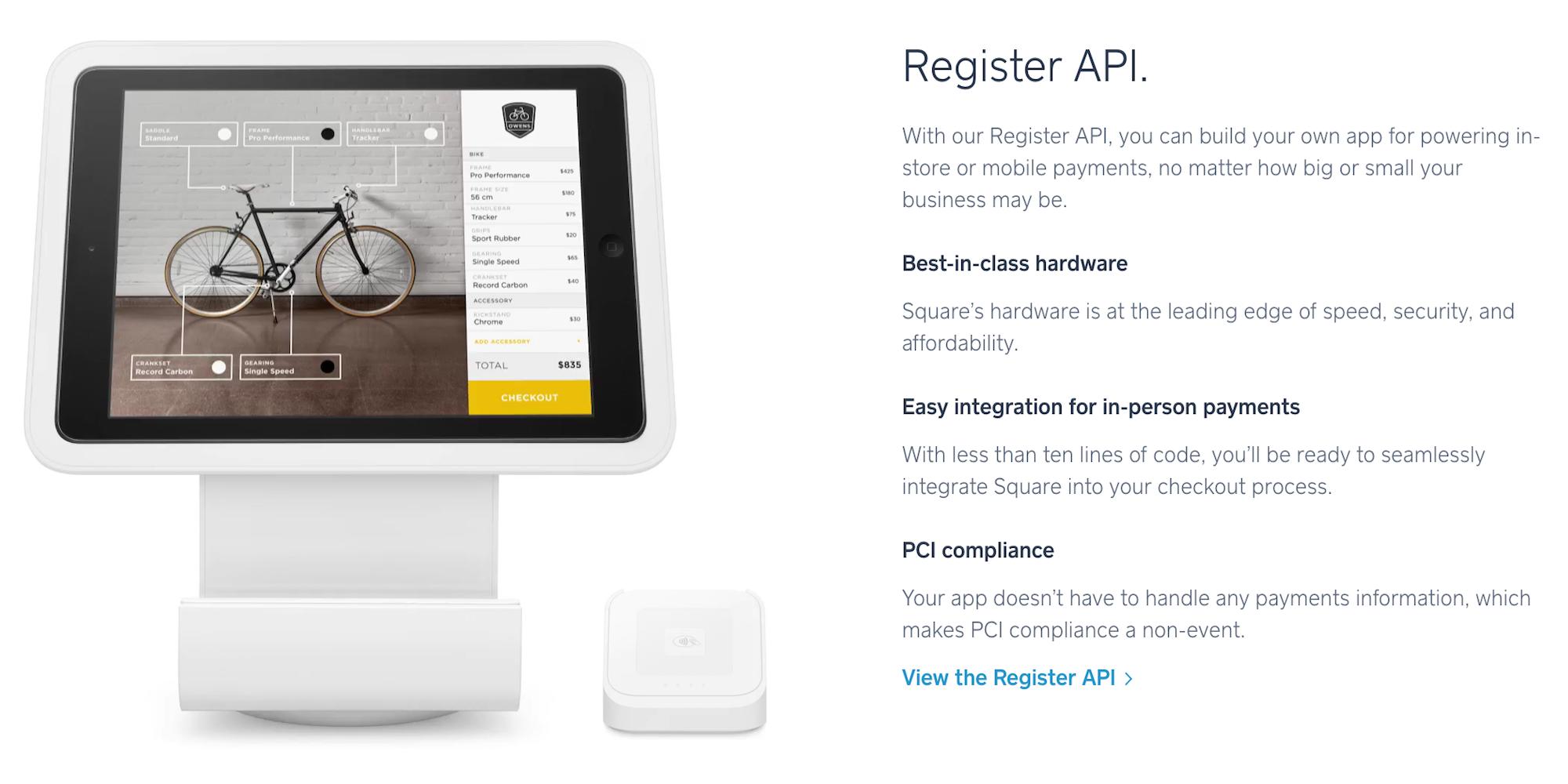 Square-Register-API