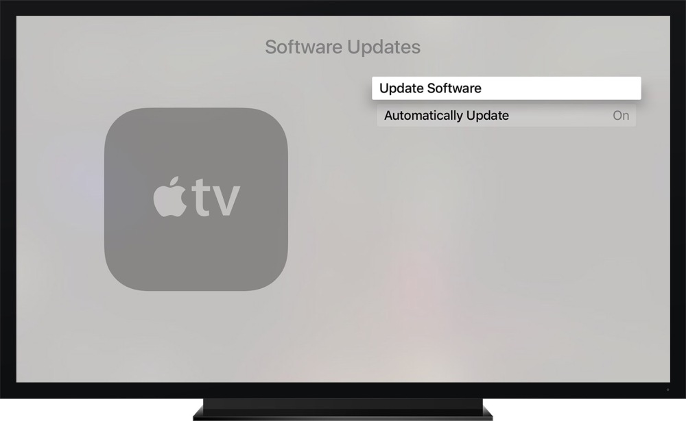 tvOS update