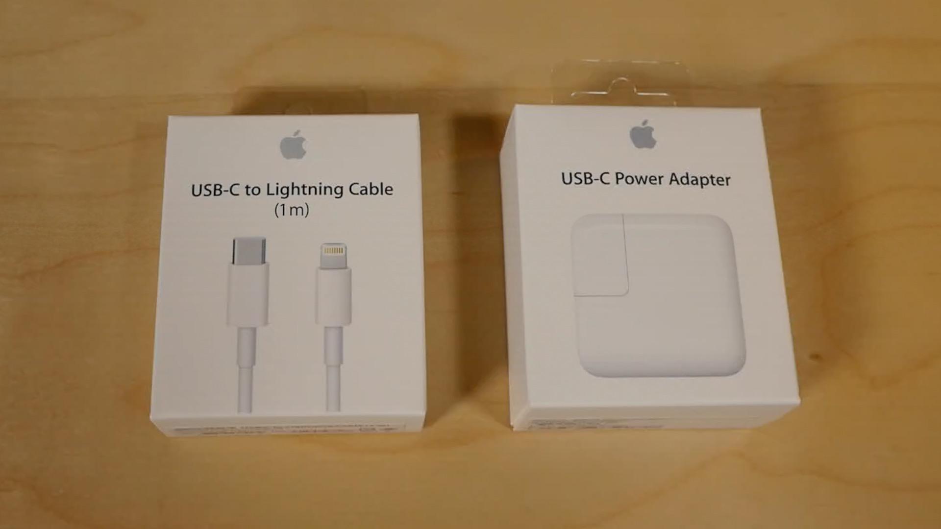 USB-C Lightning iPad Pro