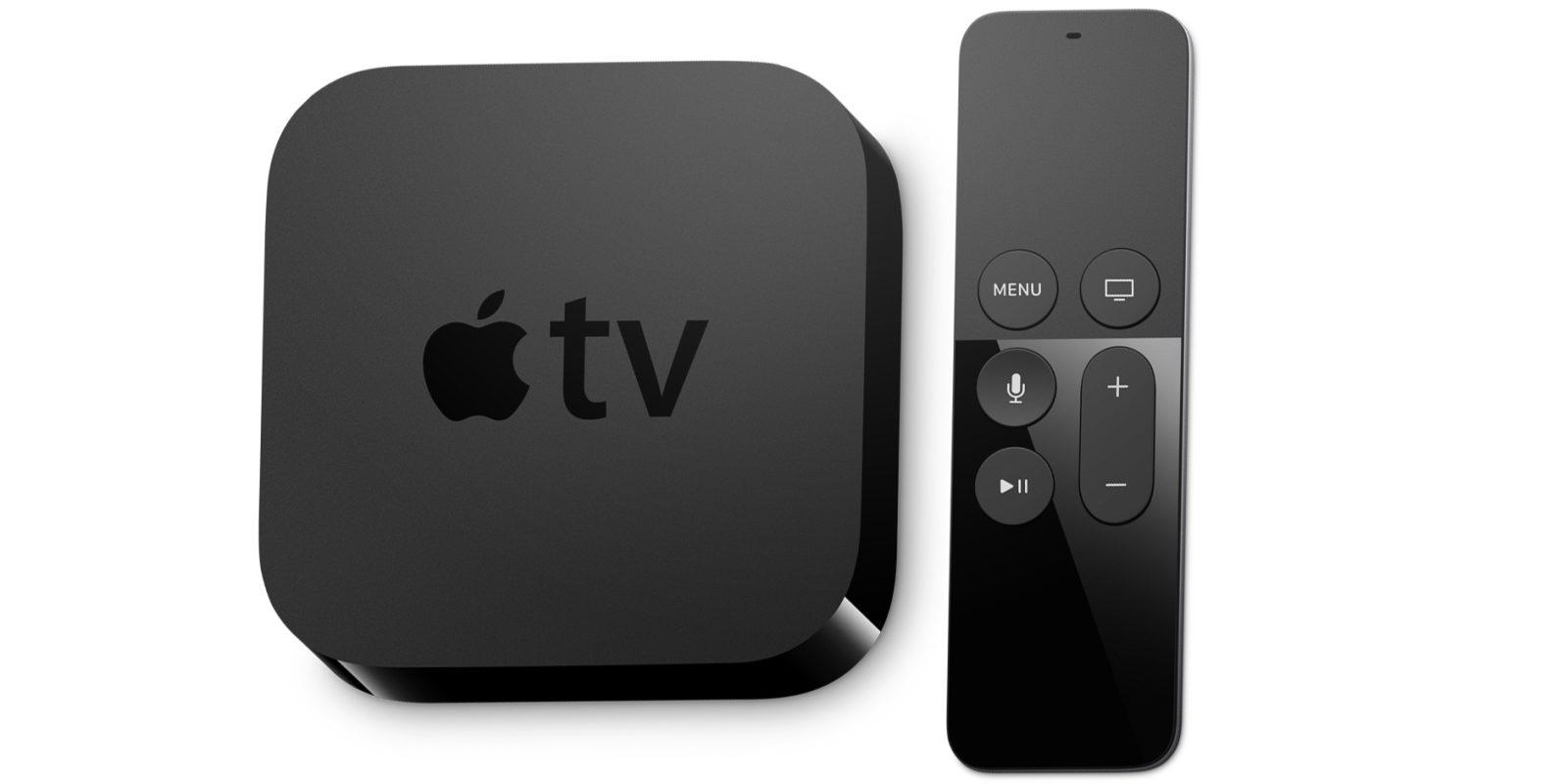 apple tv förstärkare tv