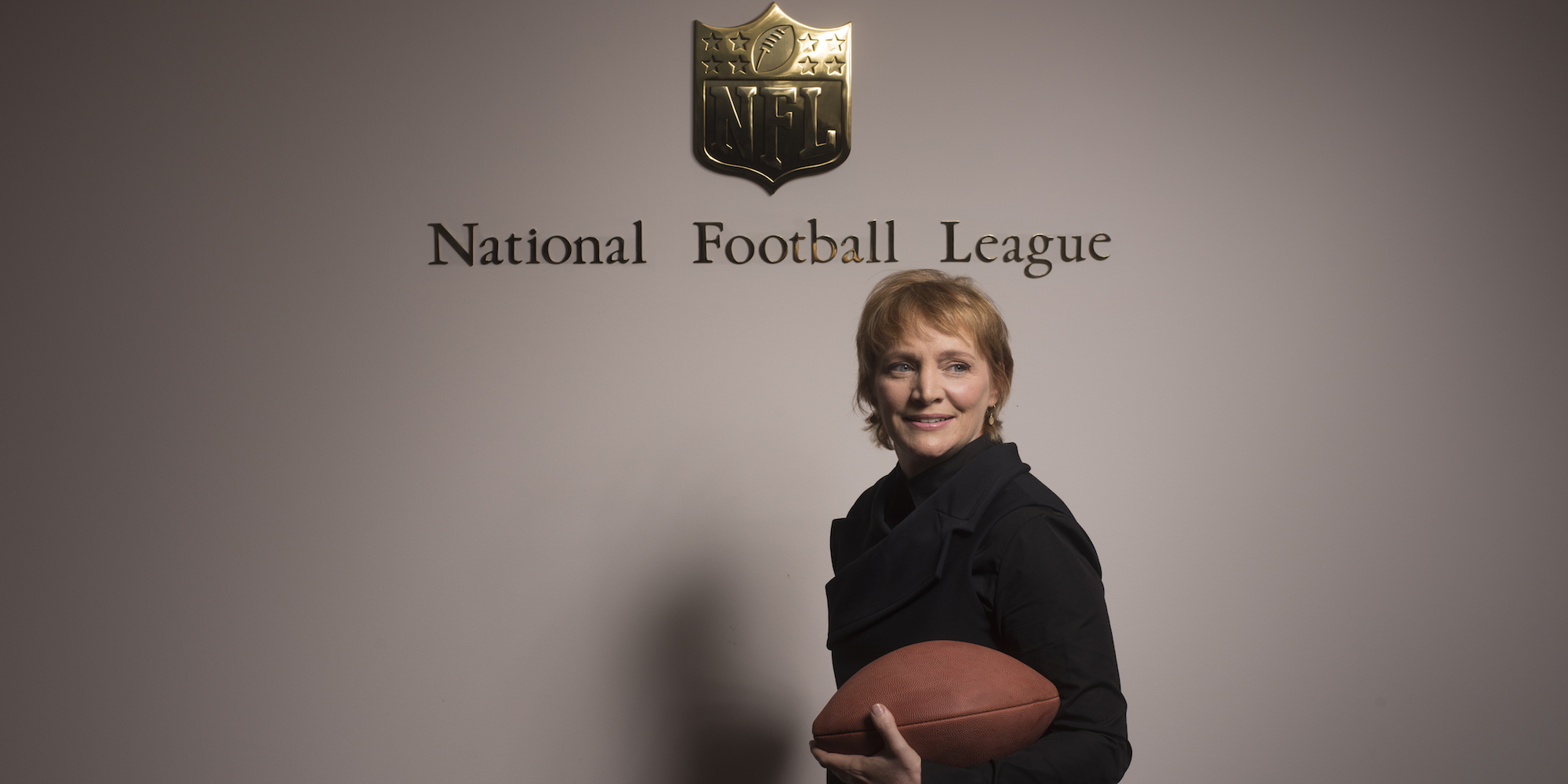 WASHINGTON, DC- OCTOBER 23: Cynthia Hogan has been hired by the National Football League to help the organization with their issues of players abusing women. She is photographed in Washington, D.C. on October 23, 2014. Hogan formerly worked with Vice President Joe Biden. (Photo by Marvin Joseph/The Washington Post)