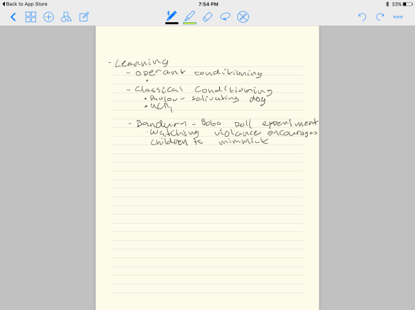 The best iOS apps for taking notes with Apple Pencil + iPad Pro