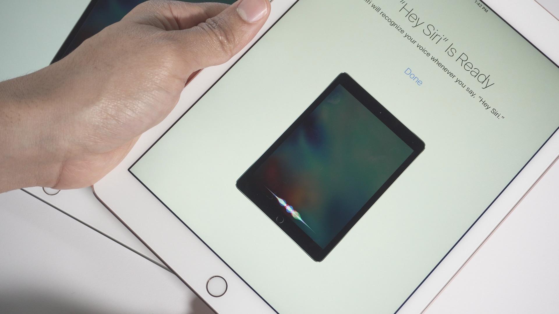 iPad Untethered Hey Siri
