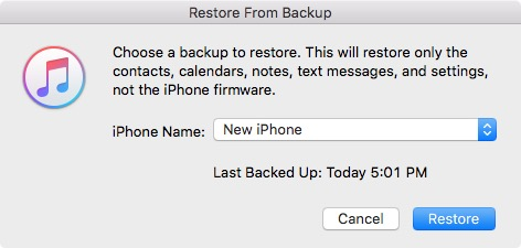 How-To: Backup and restore SMS and iMessages on a clean iOS