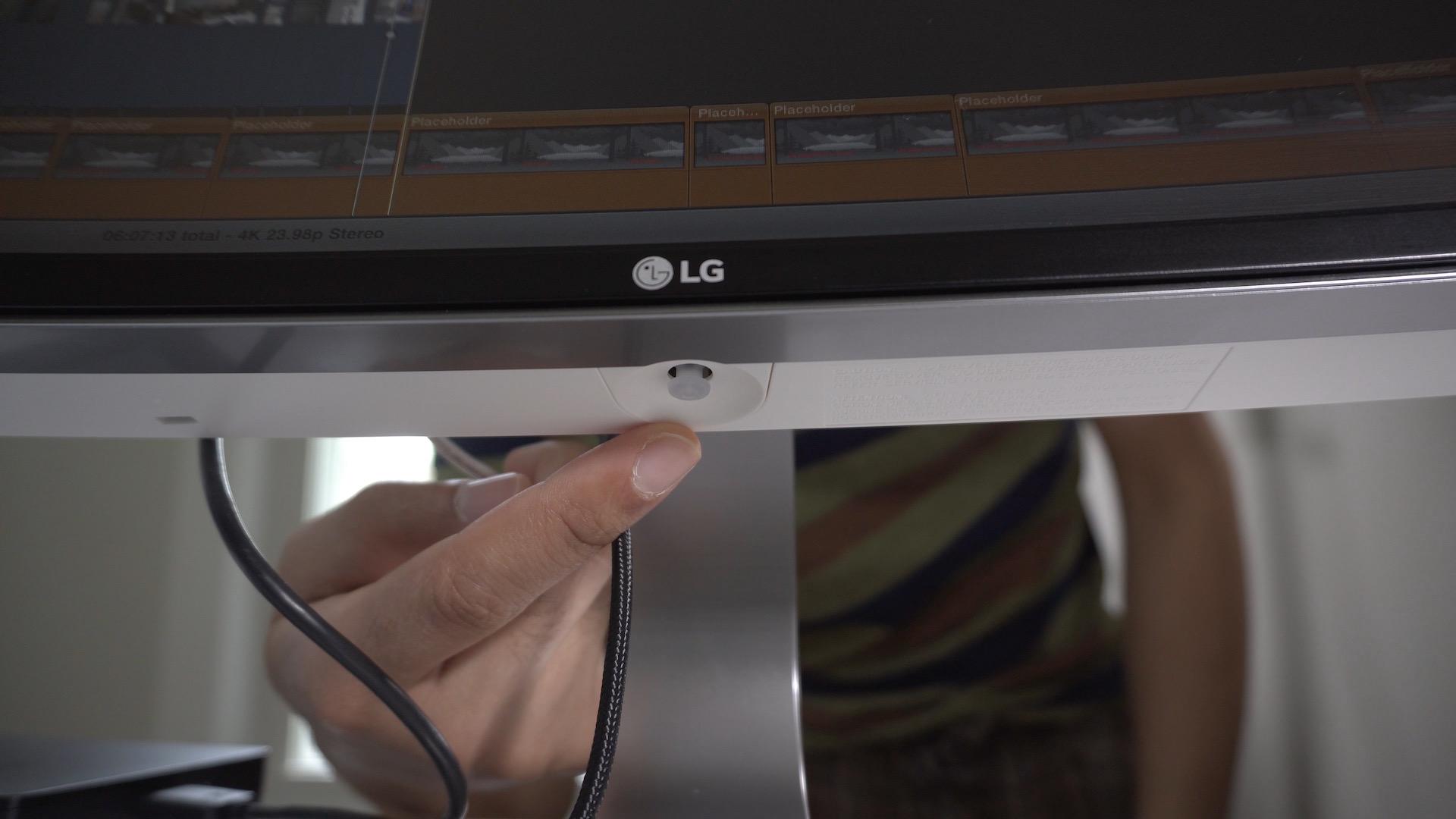 LG UltraWide Joystick