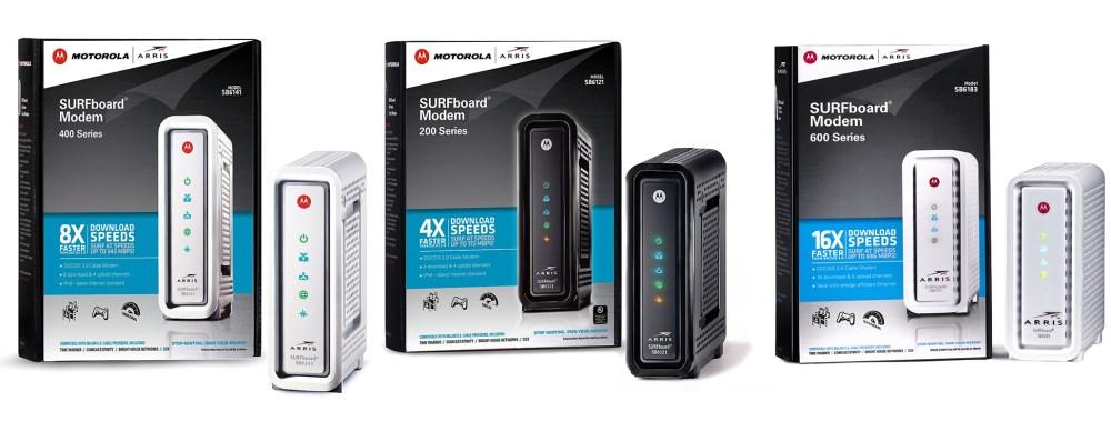 motorola-cable-modem-lineup