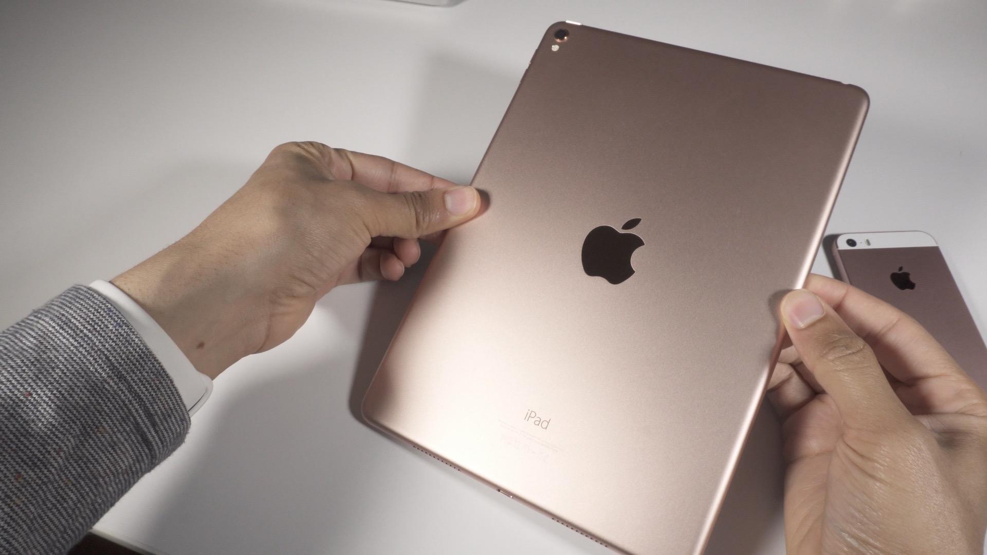 Rose Gold iPad Pro