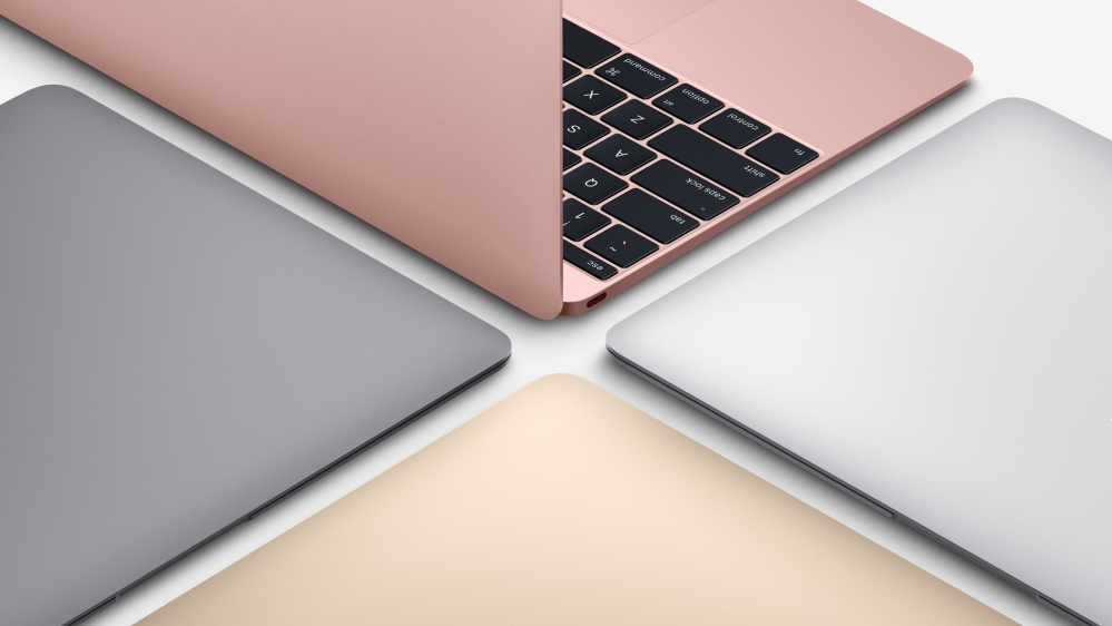 New MacBooks