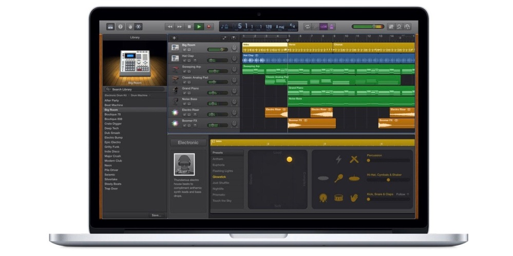 GarageBand for Mac 2-1