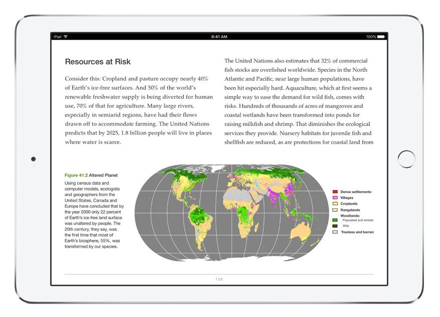 Earth Day iPad iBooks