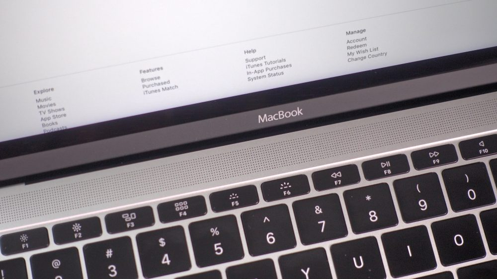 2016 MacBook Speaker