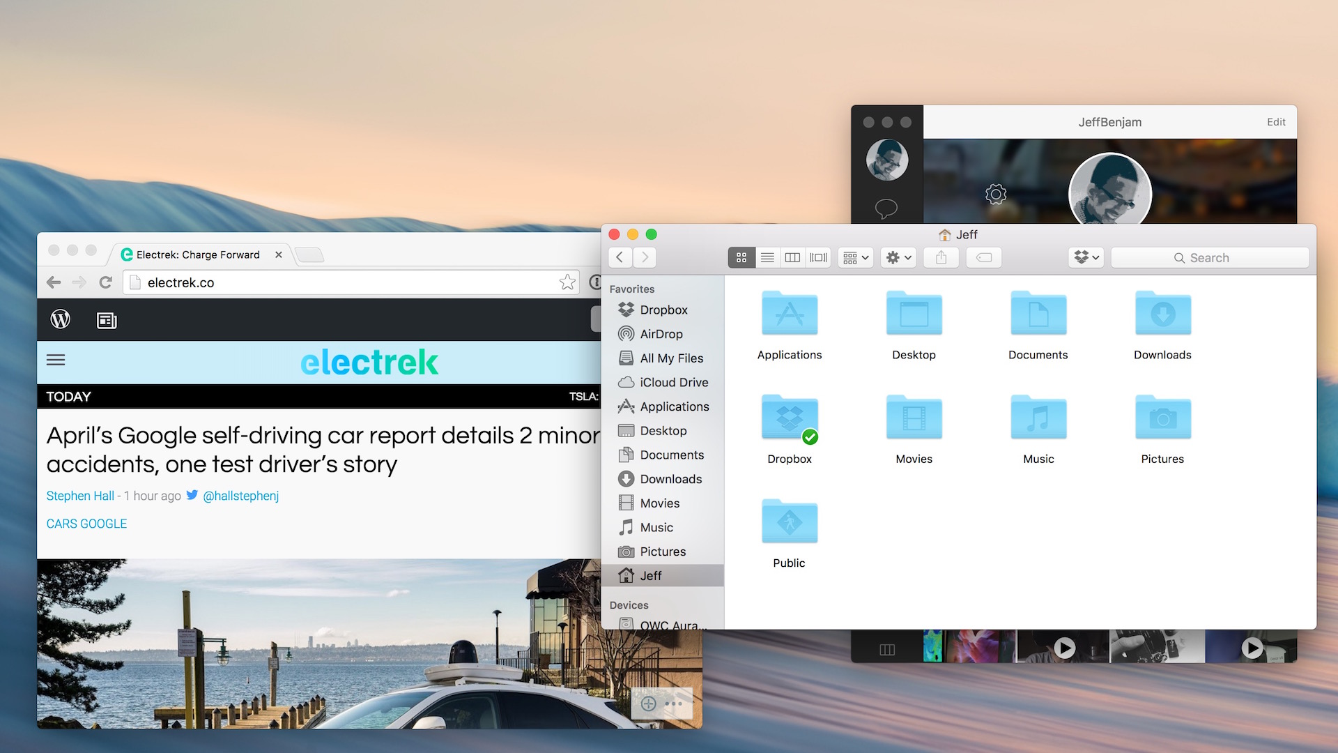 How to hide the menu bar in OS X