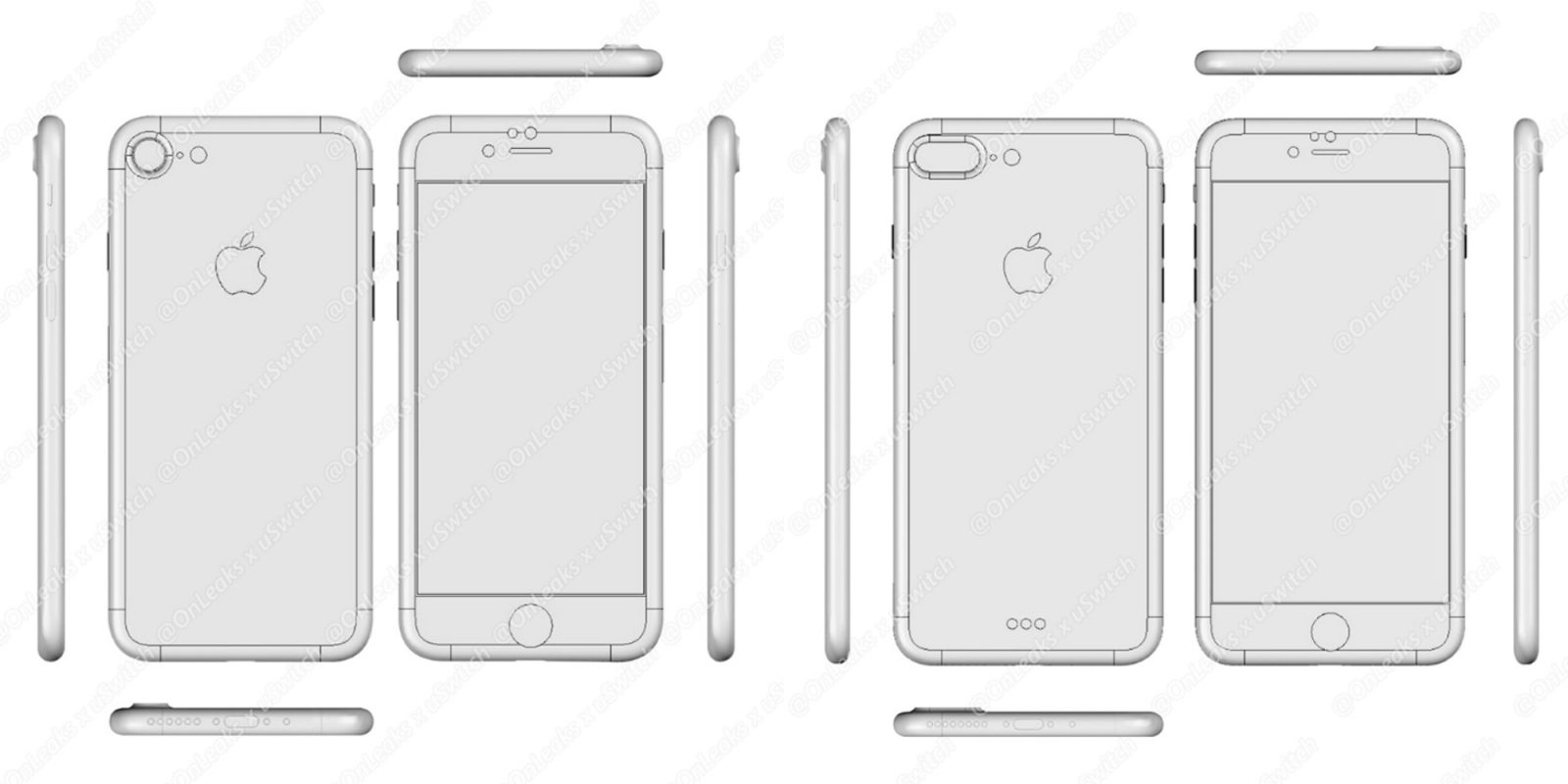 Iphone 7 Factory Cad Shows Camera P
