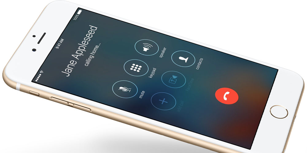 Making a phone call: one of several claimed patent infringements ...