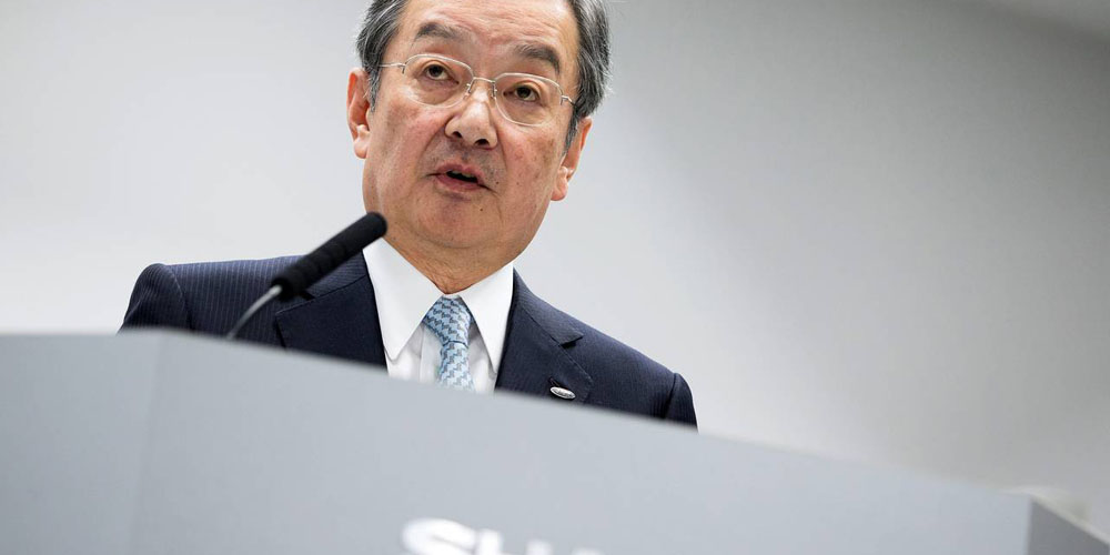 Sharp CEO Kozo Takahashi is stepping down (Photo: European Press Photo Agency)