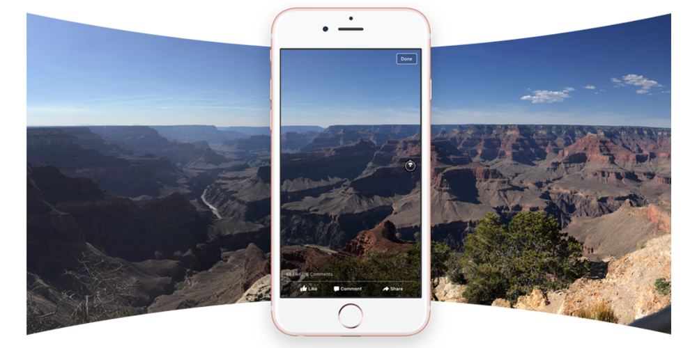 Now You Can Post 360 Degree Photos On Facebook Straight From Ios Camera App 9to5mac