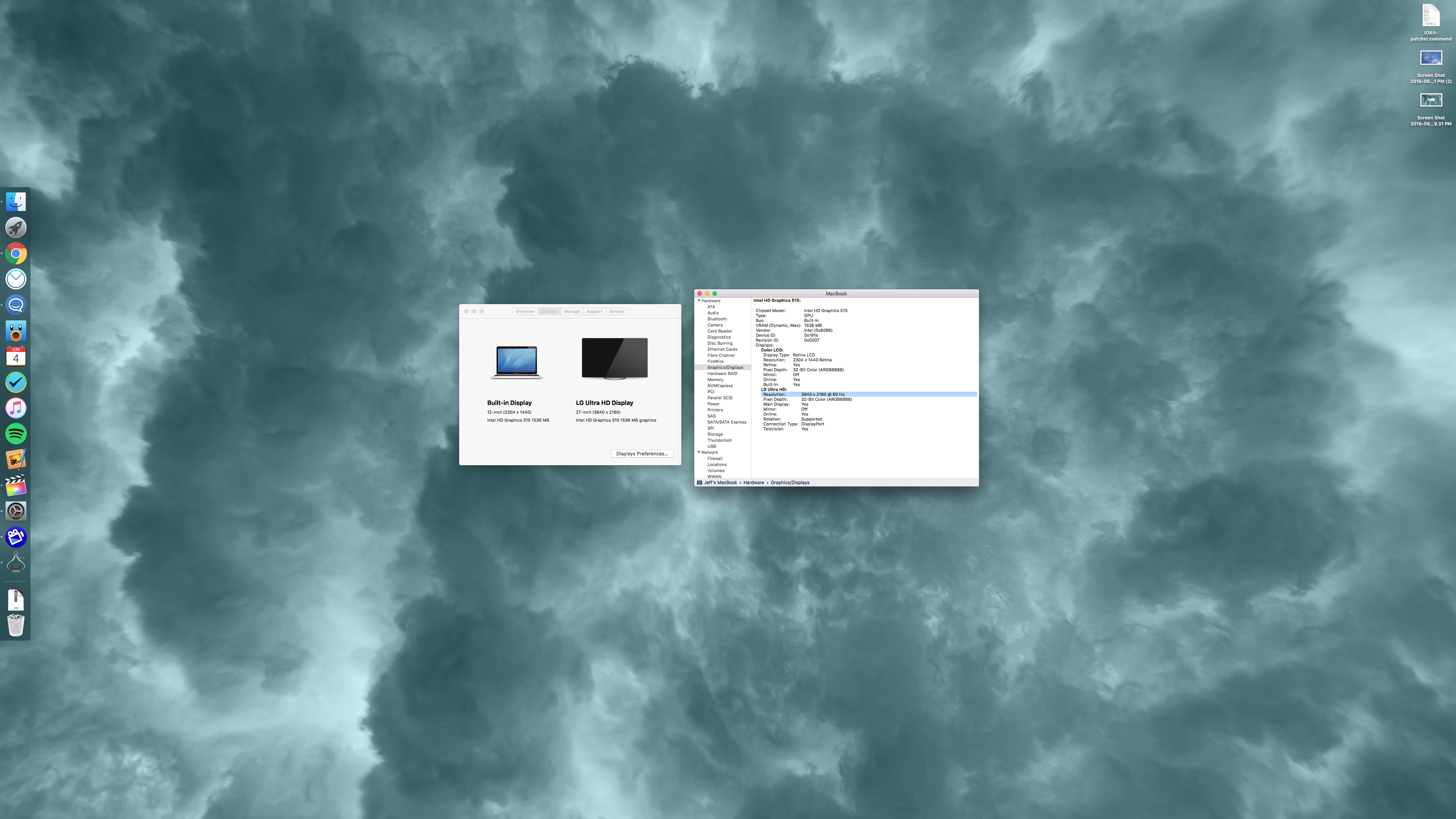4K 60Hz MacBook
