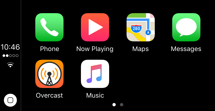 CarPlay iOS 10