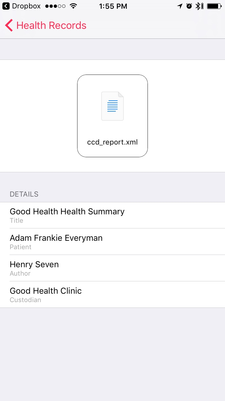 Hands-on: Apple brings HL7 CCD health records to HealthKit