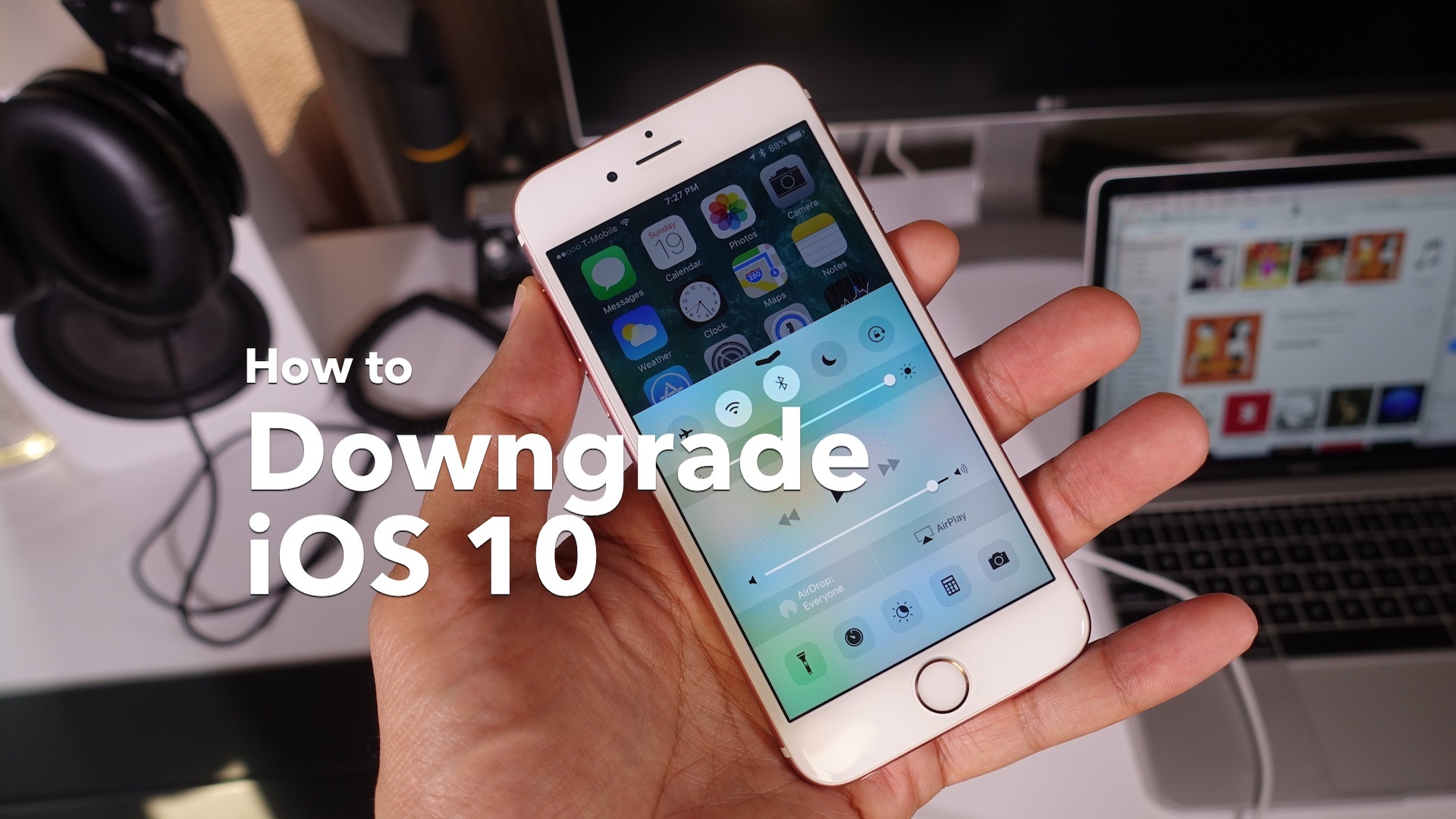 How to downgrade iOS 10 hero