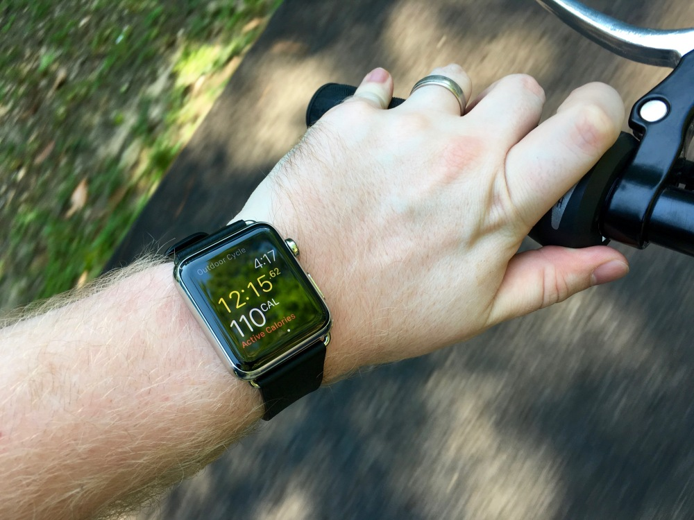 Apple Watch Cycling