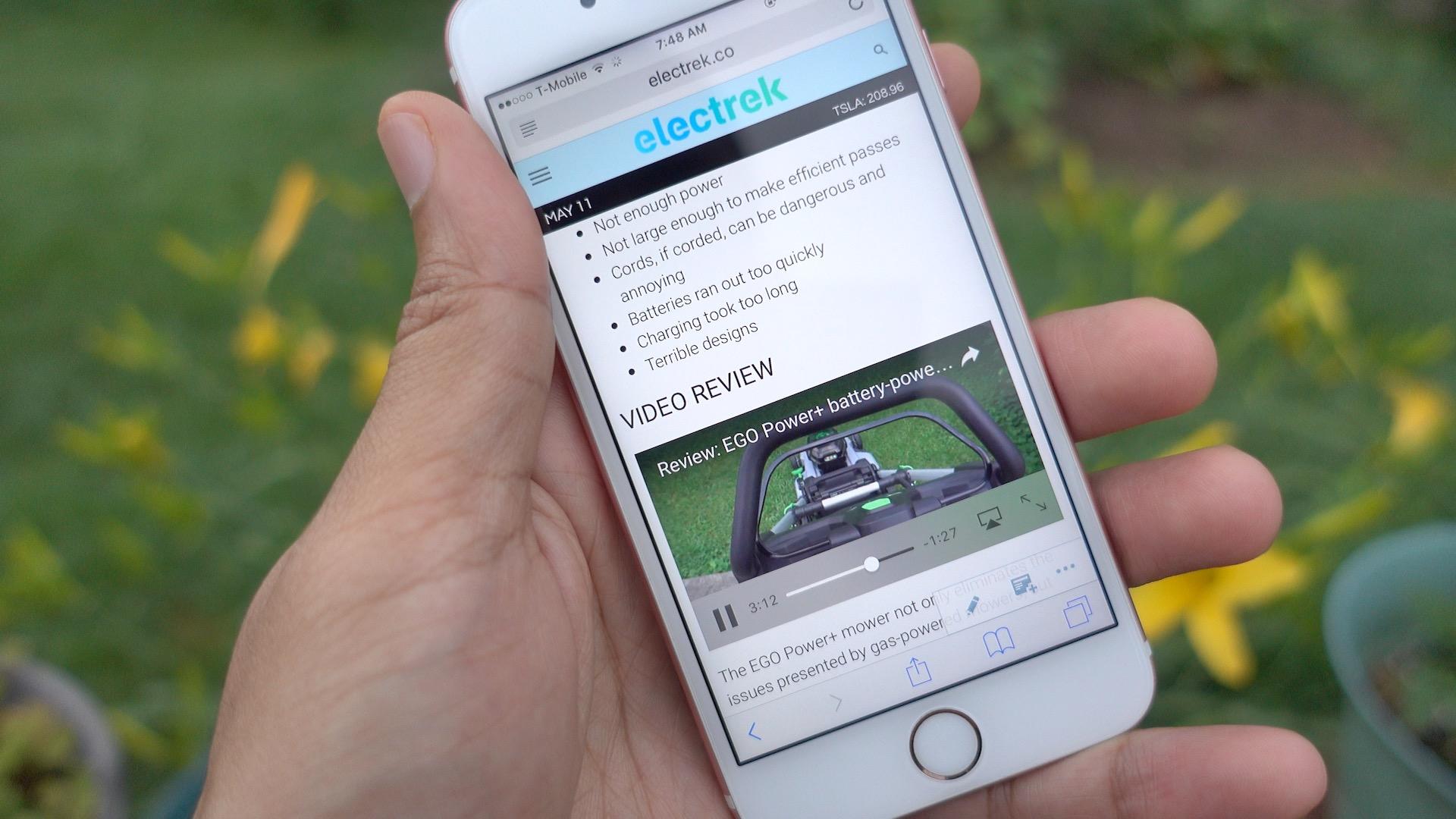 iOS 10 inline video