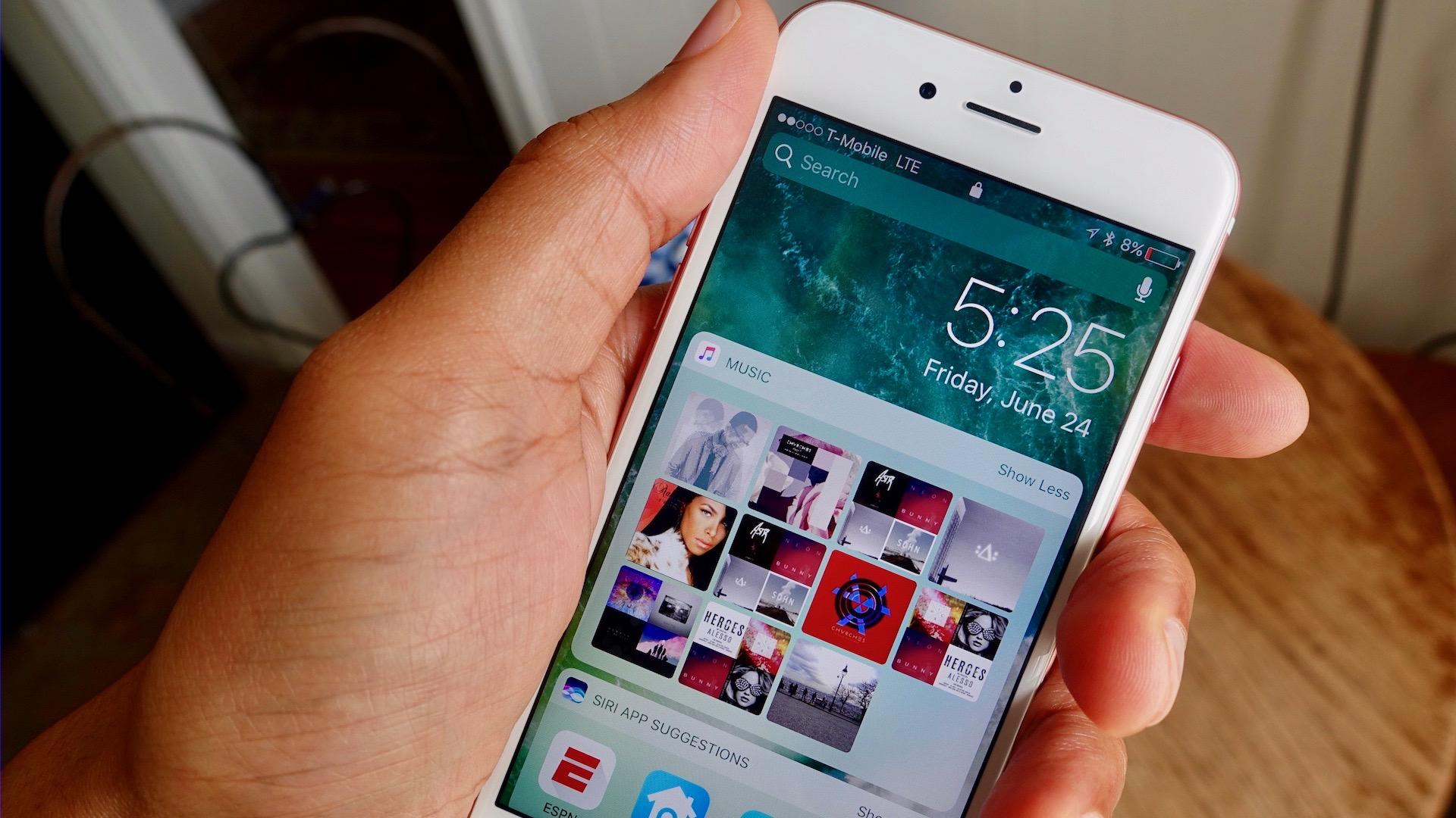iOS 10 Lock screen explained