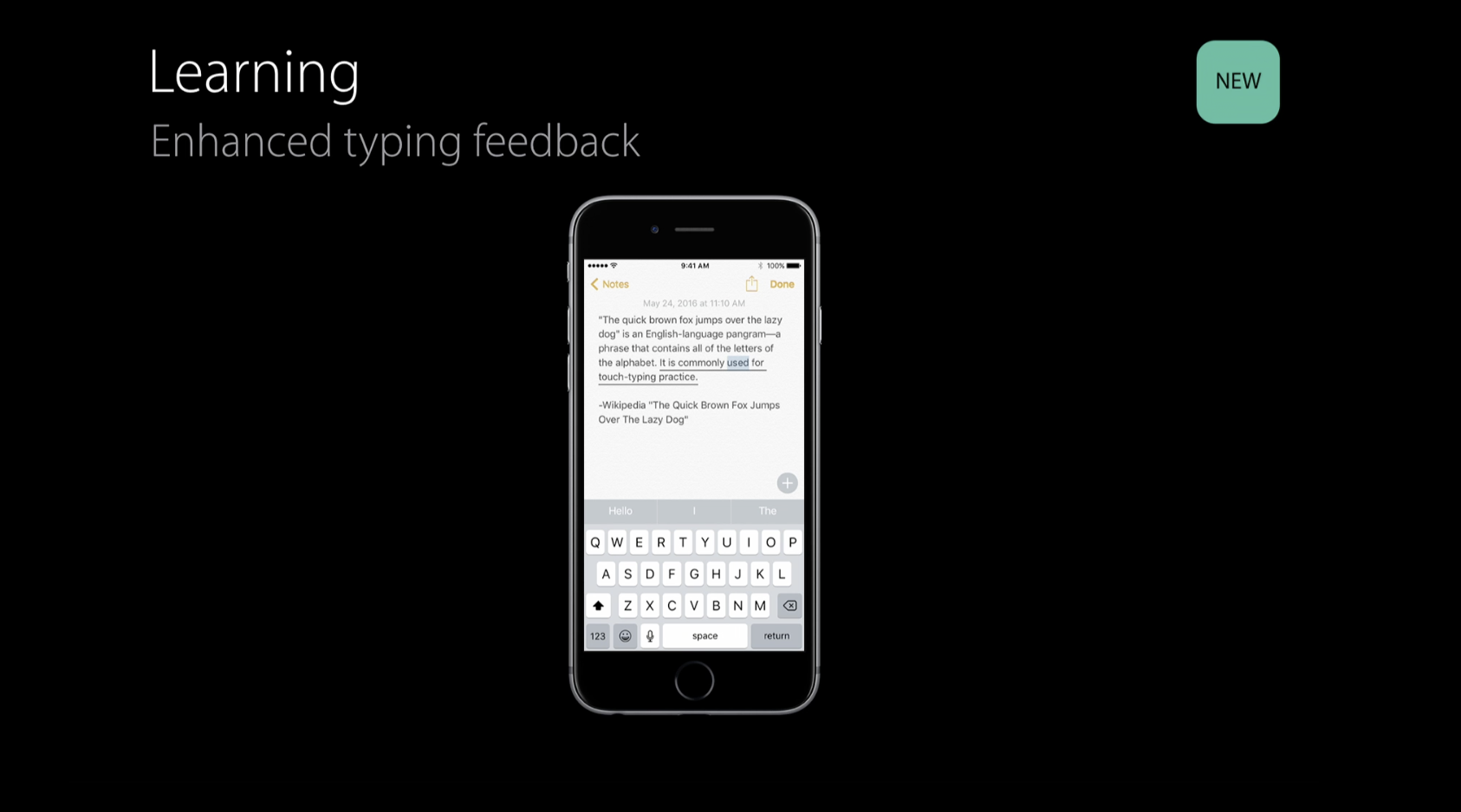Learning-Typing-Feedback-iOS-10