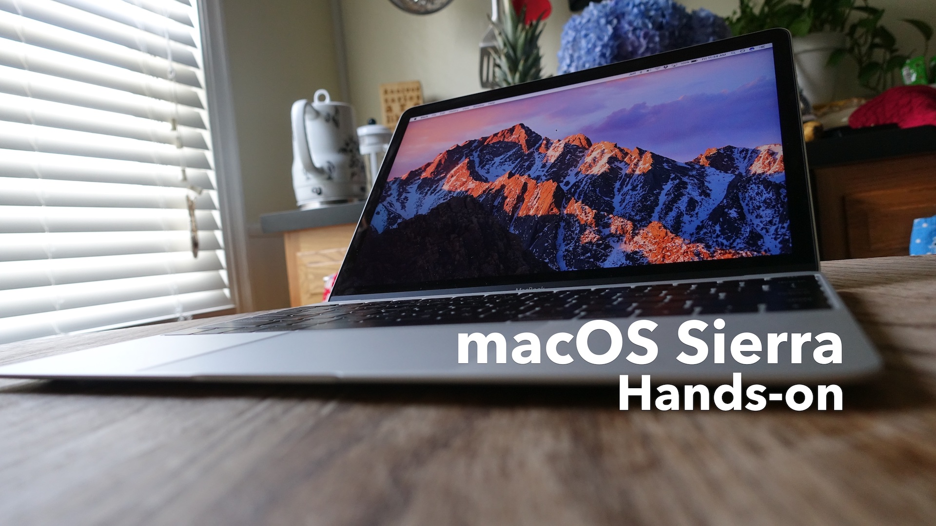 macOS Sierra hands-on