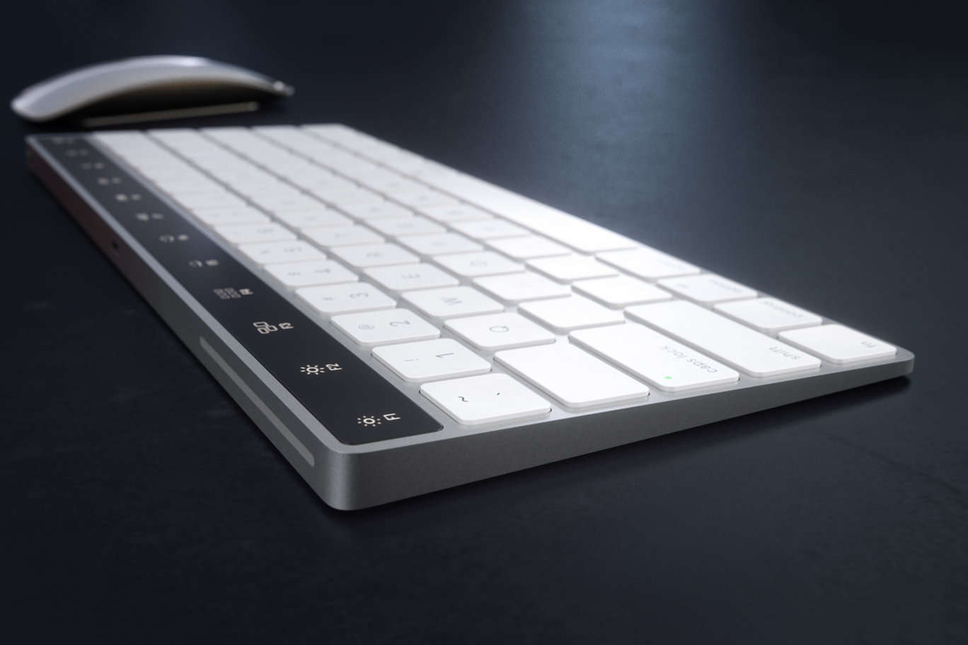 64f2ec98a3e Concept brings rumored MacBook OLED fn key row to Apple's wireless ...