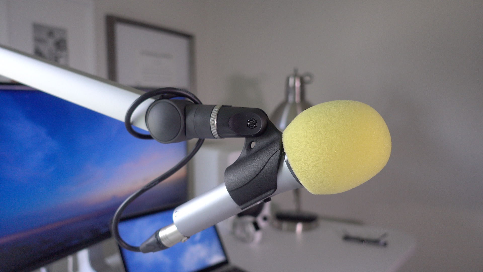 Podcast Voiceover Microphone Arm