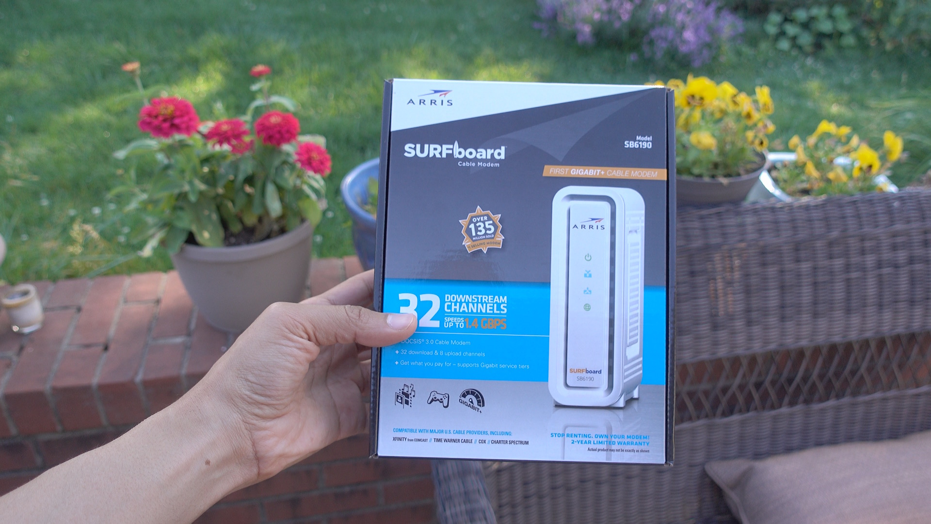 Purchasing your own cable modem may save money and allow for