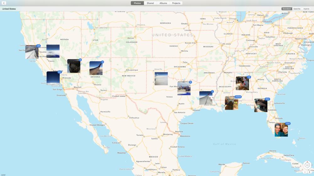 Photos map