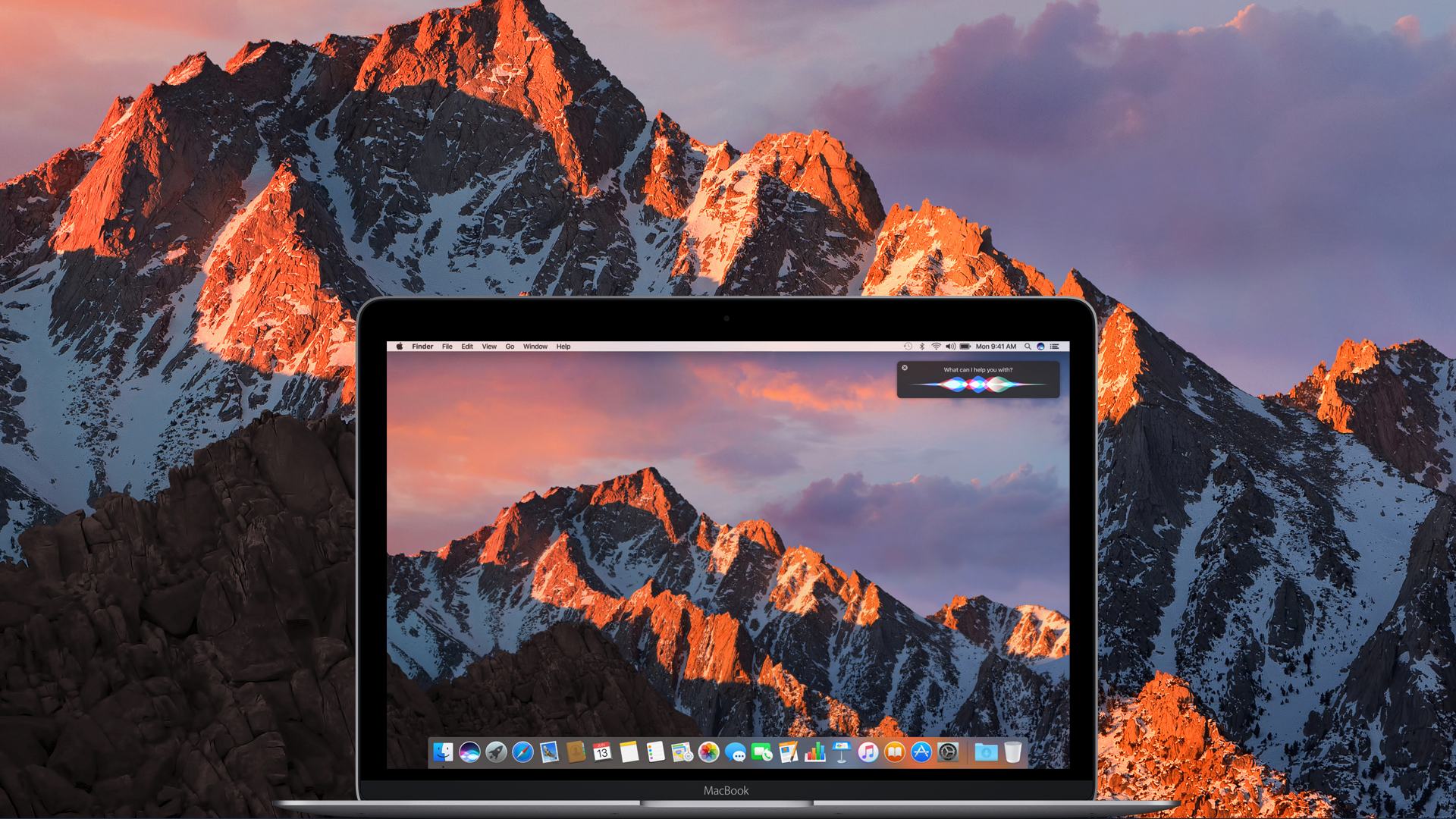 macOS 10.12 Sierra MacBook