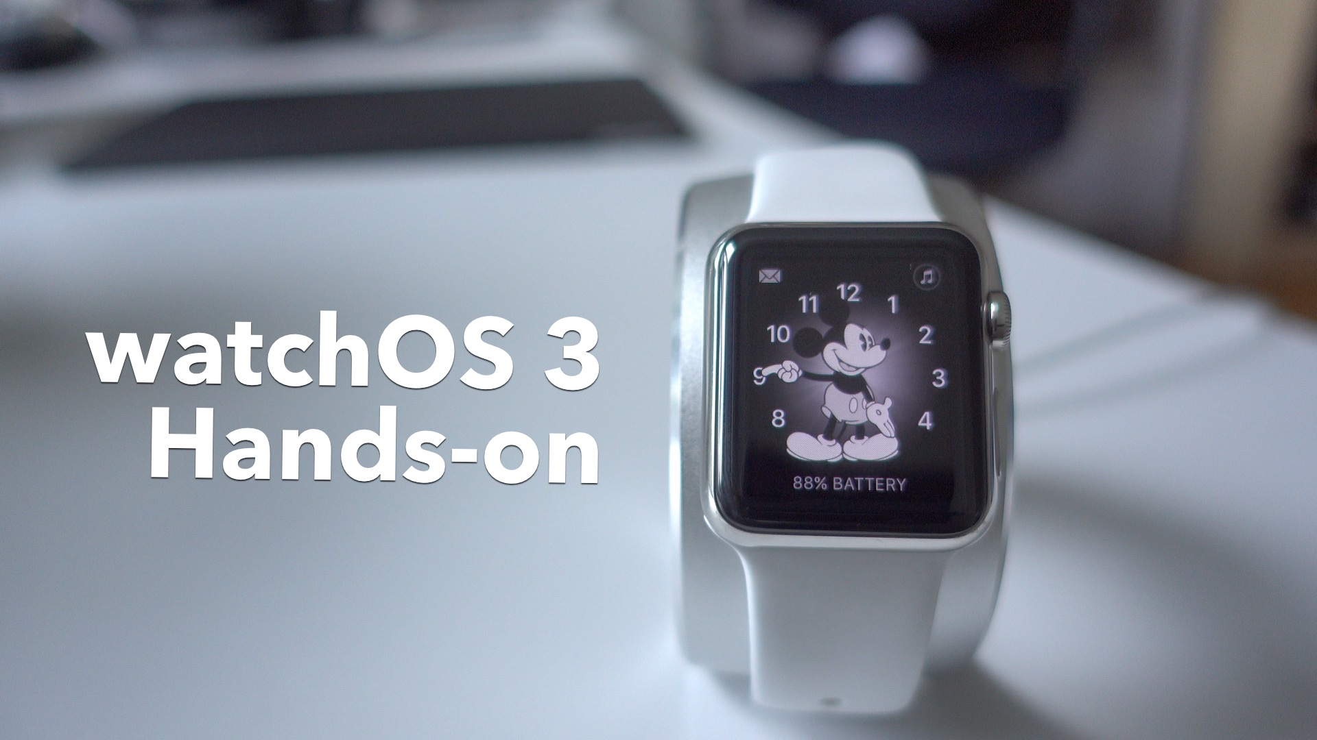 watchOS 3 hands on