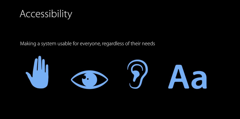 WWDC-Accessiblity