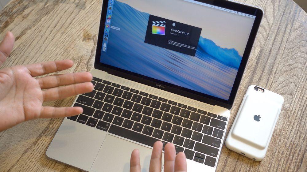 Editing 4K Video on MacBook