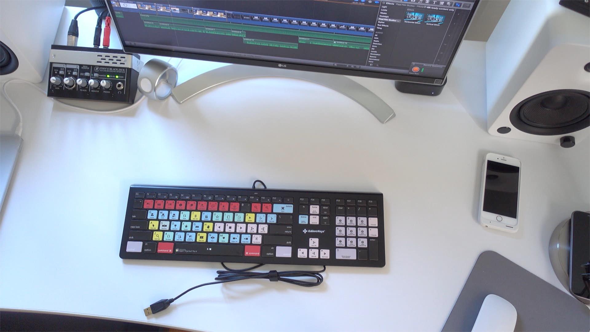 Editors Keys Desk