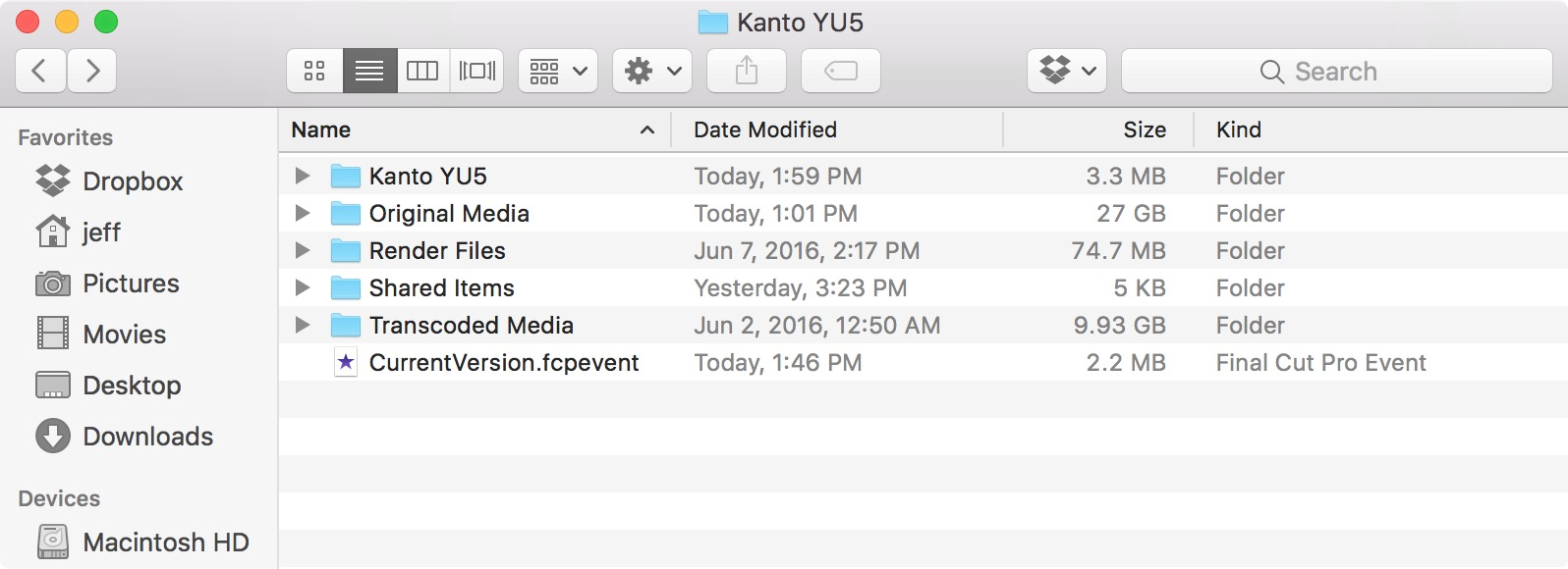 Finder Show Size of Folders